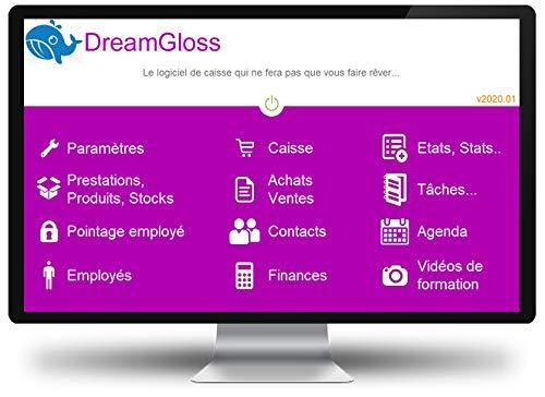 DreamGloss 2020 - Logiciel de caisse pour institut de beauté
