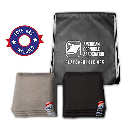 Official Cornhole Bags from The American Cornhole Association - 6' Double-Stitched Corn-Filled Bean...