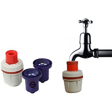 Aqua Gold Tap Filter with Extra Candle - Tap Filter with 2 Extra Candle