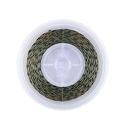 ANGRYFISH 20M High Strength Leadcore Braided Camouflage Carp Fishing Line Hair Rigs by YILE
