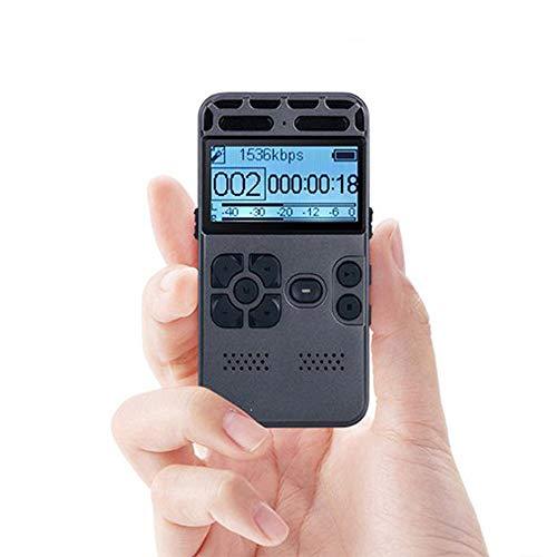 LNLJ digitale spraakrecorder 8 GB, 2,0 inch scherm, AGC-ruisonderdrukking, twee microfoons, intelligente wachtwoordbeveiliging, spraakgestuurde PCM en MP3-speler