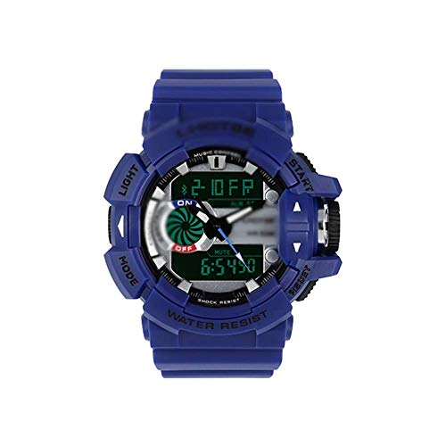 SXXYTCWL Relojes Digitales for el Mens-50m al Aire Libre Impermeable Reloj Deportivo, con Alarma/Temporizador, Electrónica Relojes, por Junior/Adolescentes/for Hombre-B jianyou (Color : C)