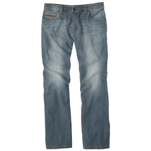 Prana – Herren Axiom Skinny-Straight Jean, Herren, Antique Blue