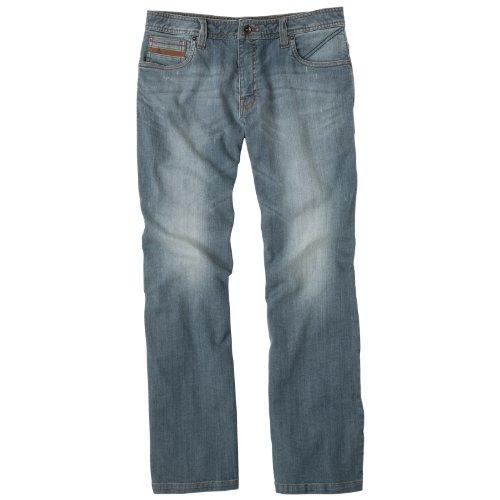 Prana–Herren Axiom Skinny-Straight Jean, Herren, Antique Blue