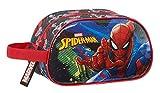 safta Neceser Escolar Infantil Mediano con Asa de SpiderMan Go Hero, 260x120x150mm, negro/rojo, M (M248)