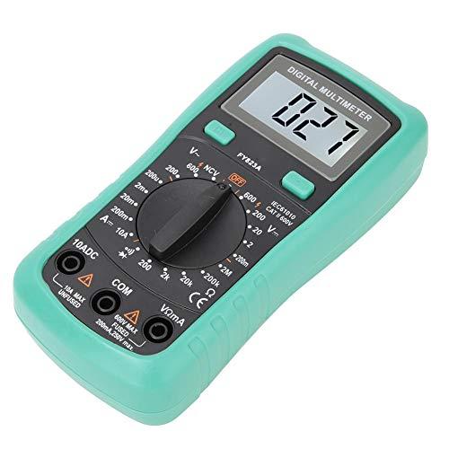 Multimeter, FY823A AC DC stroommeter spanningmeter ampèremeter mini digitaal display zeer nauwkeurige elektro-testkit gereedschap