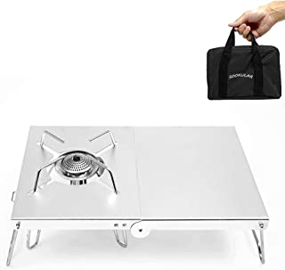 遮熱テーブル ST-310 キャンプテーブル 遮熱板 SOTO ST-310/CB-JCB アルミ合金 テーブル 一台多役 折り畳み 軽量 ソロキャンプ 専用 収納袋付きシルバー