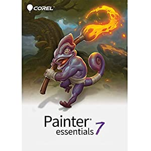 Corel | Painter Essentials 7 | Digital Art Suite | Amazon Exclusive includes 30 FREE Brushes valued at $60 [Mac Download]
