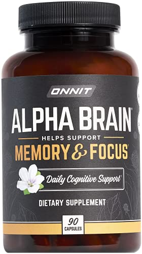 ONNIT Alpha Brain: Focus, Concentration & Memory