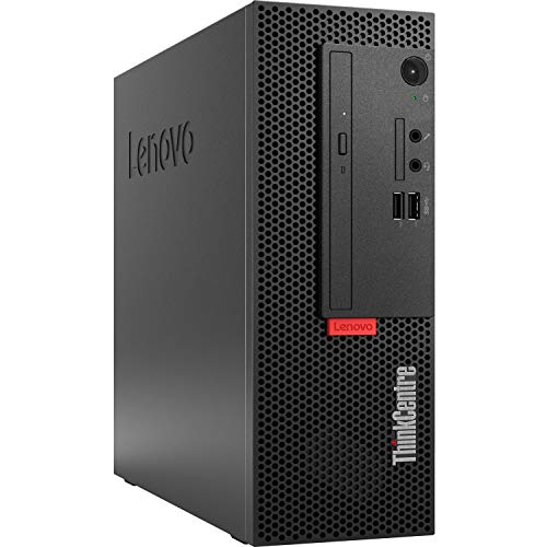 Lenovo_ThinkCentre_M720e SFF Business PC (Intel Core i9, 64GB RAM, 1TB NVMe SSD + 2TB HDD, DVD-RW, AC WiFi, Windows 10 Pro) Compact Professional Desktop Computer with DP to HDMI Adapter
