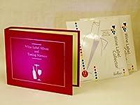 ワインラベルアルバム レッド+ワイン用ラベルコレクター 24枚 WINE LABEL ALBUM AND TASTING MEMORY RED+Wine Label Collector 24seets