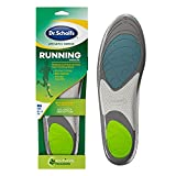 Dr. Scholl's Running Insoles // Reduce Shock and Prevent Common Running Injuries: Runner's Knee, Plantar Fasciitis and Shin Splints, Men's 7.5-10