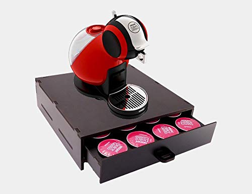 Porta Capsula Café Dolce Gusto Preto 16 Capsula Reforçado