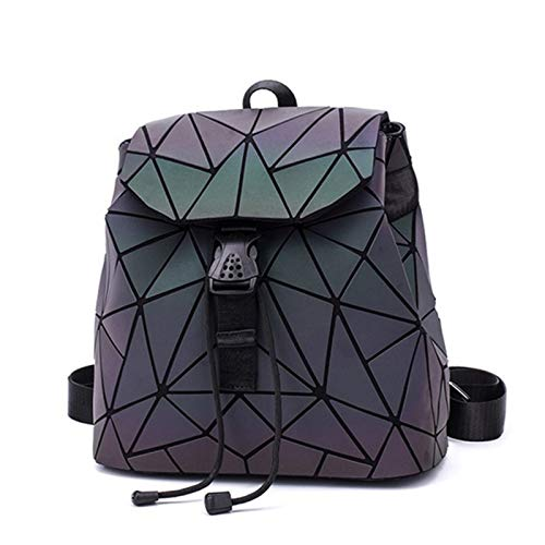 Fashion 1PCS Fashion Luminous Backpack Backpack Girl Backpack Backpack Schoolbag Travel Accessories (Color : Luminous Small A)