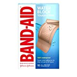 Band-Aid Tough-Strips Adhesive Bandages, Waterproof, Extra Large, 10 ct.