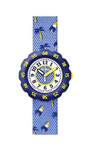 Flik Flak Unisex Kinder Analog Quarz Uhr mit Kunststoff Armband FPSP013D