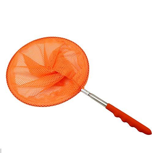 AAGOOD Edelstahl Faltbare Insect Net Teles Faltbare Kescher Pole Casting-Netzwerk-Falle Kescher Kind Spielzeug zufällige Farbe 1 Pc