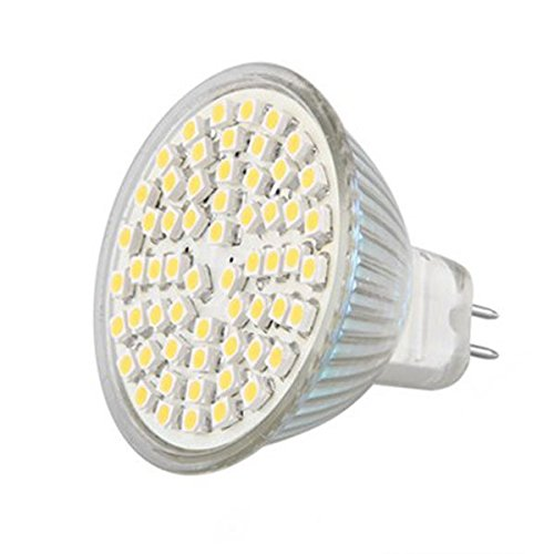 Mingruie 12V MR16 G4 LED Spotlight Bulb 6W Cup Lamp 60 leds SMD3528 LED Spot Bulb