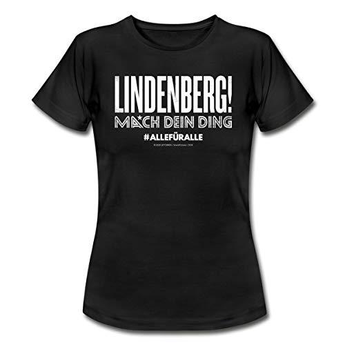Lindenberg! Mach Dein Ding #Allefüralle Frauen T-Shirt, L, Schwarz