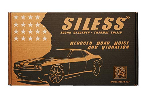 Siless 80 mil 36 sqft Car Sound Deadening mat - Butyl...