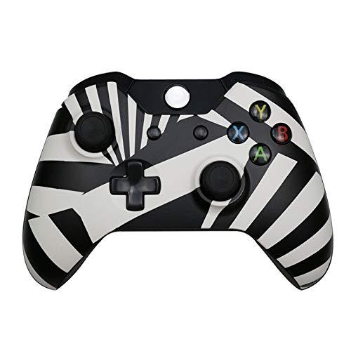 Elegdy 6 Color Wireless Controller Controle for Console Gamepad Computer PC Controller Joystick Moblie Game Handle Gamepads (Color : Zebra)