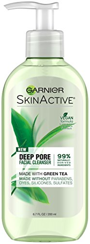 Garnier SkinActive Face Wash with Green Tea, Oily Skin, 6.7 fl. oz.