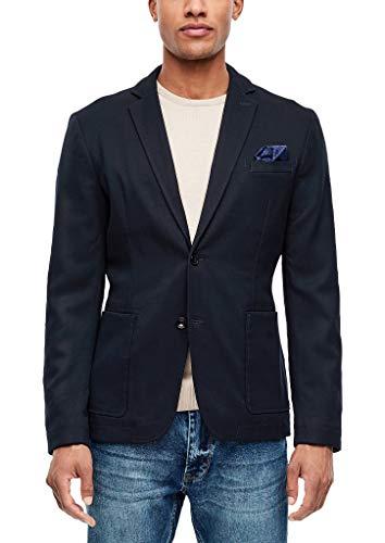 s.Oliver Herren 13.911.54.4382 Blazer, Blau (Storm Blue 5990), 52 (Herstellergröße: XL)