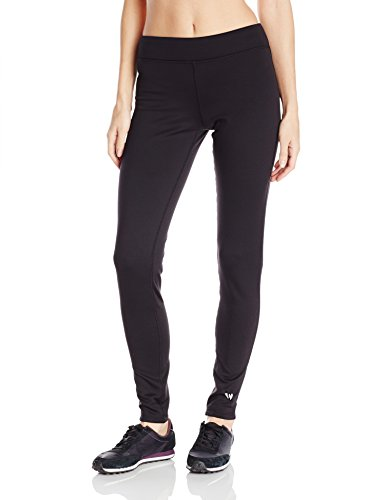 White Sierra Power Stretch Leggings Femme Noir FR : M (Taille Fabricant : M)