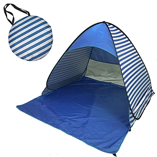 HCYY Carpa a Rayas, Carpa emergente para Exteriores de Gran tamaño, Carpa Plegable Impermeable Ultravioleta para Exteriores, para Camping Familiar, Pesca, Picnic