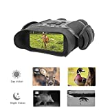 "Guomu High Value Night Vision Binoculars NV900 with 4"" LCD Widescreen, 4.5-22.5 x 40 Digital Infrared Dark Night Vision Scope Camera Take 5mp Photo & 720p Video (with Sound) Up to 400m /1300ft"