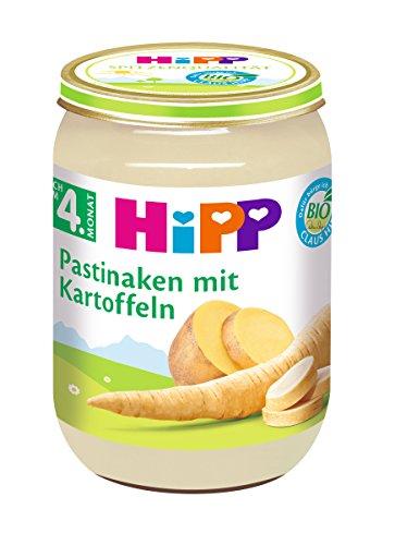 HiPP Pastinaken mit Kartoffeln Bio, 6er Pack (6 x 190 g)