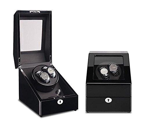 Mkuha 2 + 3 Watch Winder Estuche bobinadora para Relojes de Pintura...