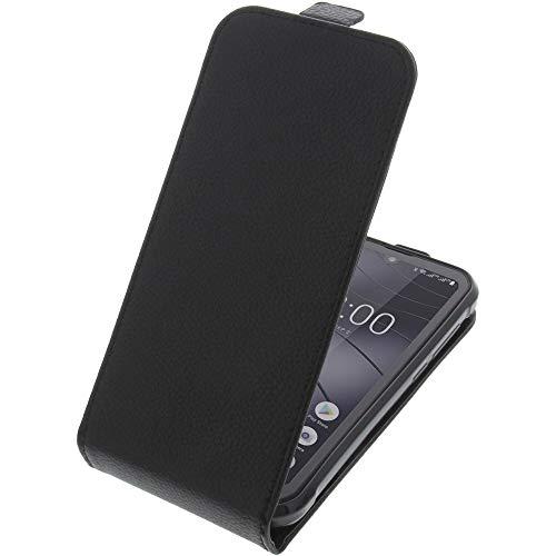 foto-kontor Tasche für Gigaset GX290 / GX290 Plus Smartphone Flipstyle Schutz Hülle schwarz