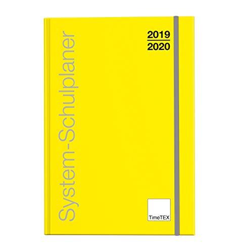 TimeTex System-Schulplaner kalender A4-Plus Gelb, 2019-2020