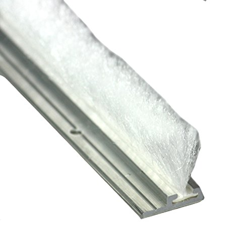 Bürstendichtung BWP 22 mm x 200cm weiss selbstklebende Türbürste Türdichtung