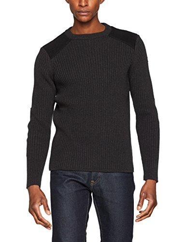 Schott NYC Herren Plrage1 Pullover, Grau (Anthracite), (Herstellergröße: Medium)