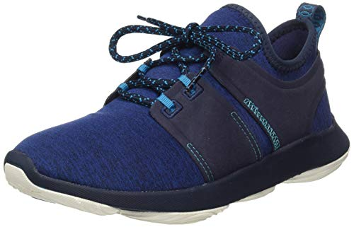 Hush Puppies Damen Geo Sneaker, Blau (Navy Navy), 42 EU
