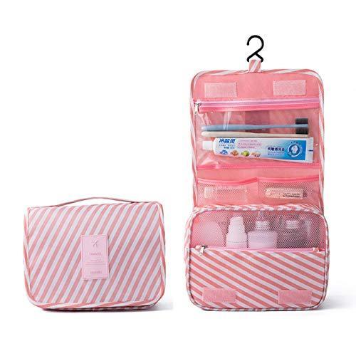 Bolsa de cosméticos de viaje para mujer, bolsa de almacenamiento para artículos de tocador, almacenamiento impermeable, lavadora colgante, bolsa de baño para baño