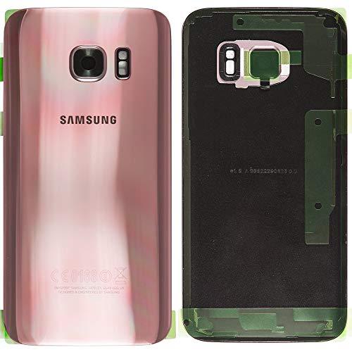 Originele batterijdeksel Backcover voor Samsung Galaxy S7 Edge G935F roze goud/plakfolie/afdichting/reparatiehandleiding