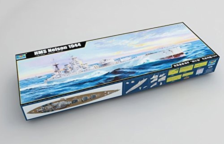 buena reputación TRUMPETER TRU 03708 03708 03708 HMS Nelson 1944 Model Ship Kit by Trumpeter  opciones a bajo precio