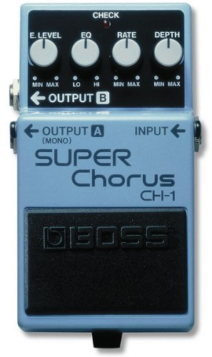 BOSS CH-1 Super Chorus - Pedal guitarra