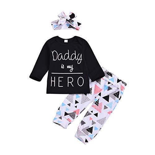 Xuefoo Conjunto de Ropa para niña recién Nacida Conjunto de Traje de Camisa para niño