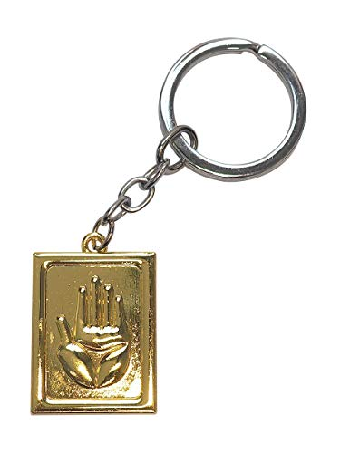 COSAUG Portachiavi Kujo Jotaro con placca d'oro