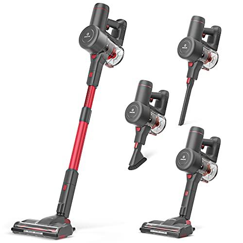 NEQUARE Cordless Vacuum, 175W Stick Vacuum Cleaner...