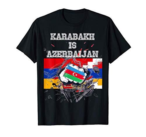 Karabach ist Aserbaidschan Qarabag ist meine Heimat T-Shirt