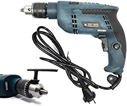Homdum® 550W 13Mm Variable Speed Impact Hammer Drill Machine With Reversible 13 mm Chuck Size with drill key.