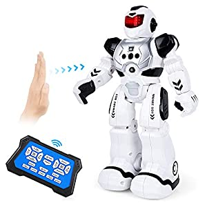 Biulotter RC Robot for Kids Intelligent Programmable Robot with Infrared Controller Toys, Dancing, Singing, Led Eyes…