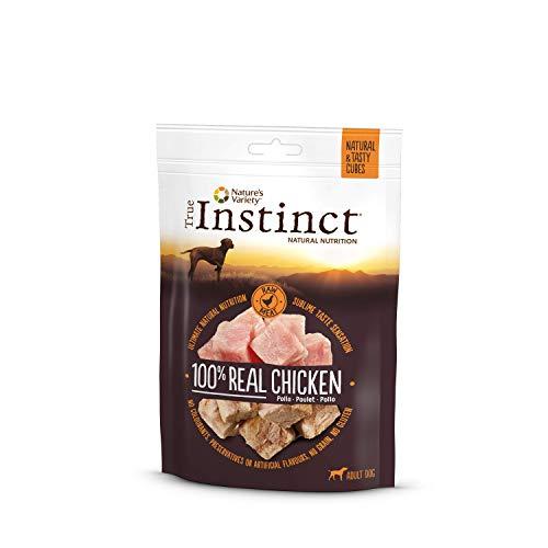 True Instinct Cubes Chicken, Nature's Variety, Snacks de Pollo - Pack 6 x 50 g (Total 300 g)
