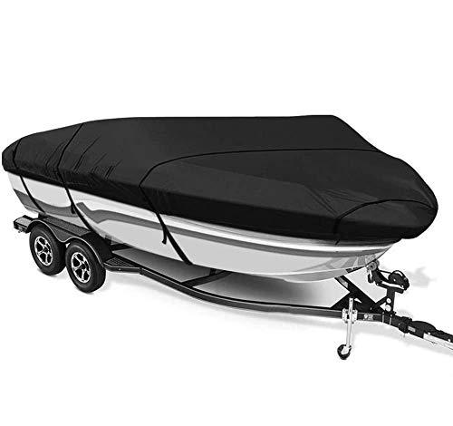 Massage-AED Funda para Barco Impermeable para Embarcación Resistente 600D Tela Oxford Cubierta De Barco Impermeable con Revestimiento De PVC Cubierta Exterior Cubierta De Barco En Forma De V