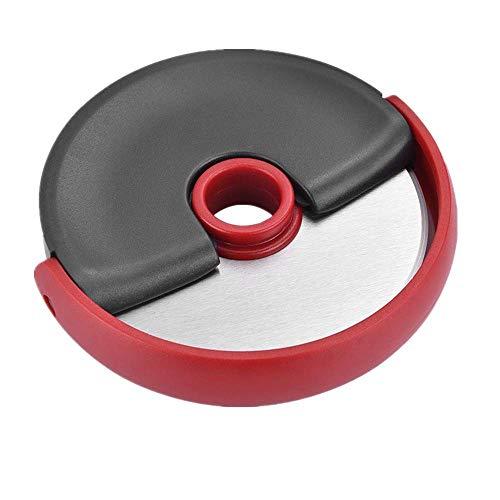 KOPOU Pokemon Roulette à pizza avec lame rotative légère, outil de coupe de cuisine ménager avec roulettes ciseaux pour pizza, tartes, gaufres